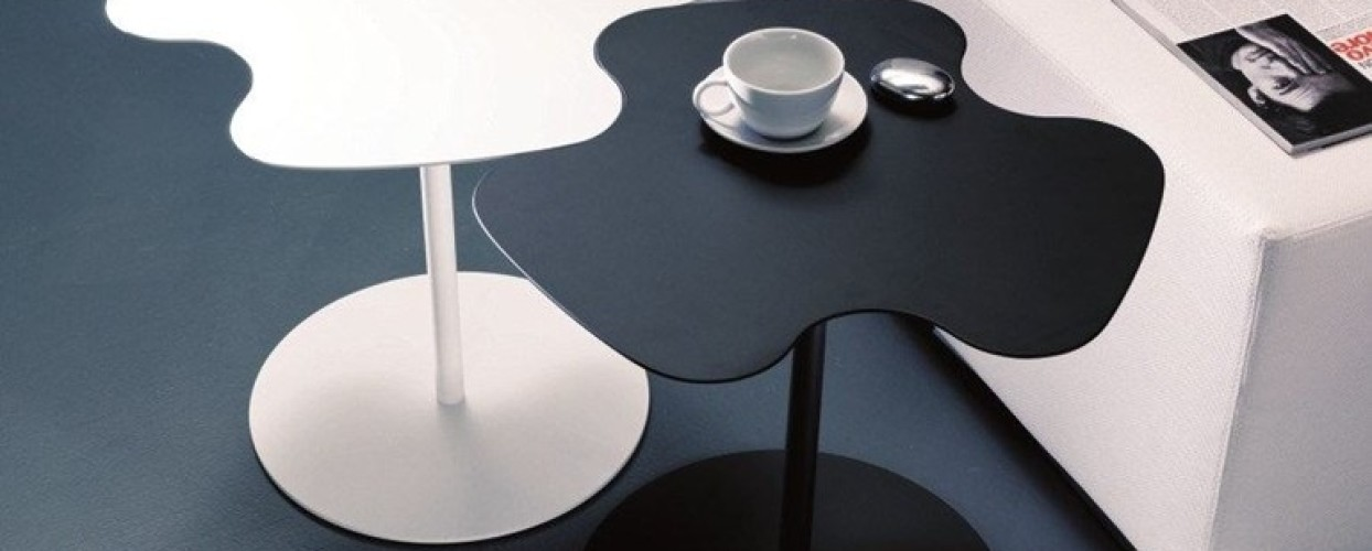 طاولات قهوة على شكل ورود